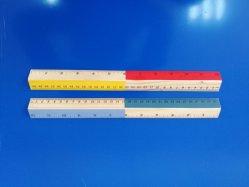 Natur-hölzernes Tabellierprogramm mit Farben-Druck