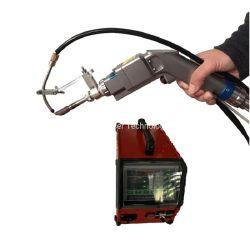 testa per saldare del laser della stretta della mano dell'alimentatore del collegare di 1000W 1500W 2000W/pistola + regolatore automatici