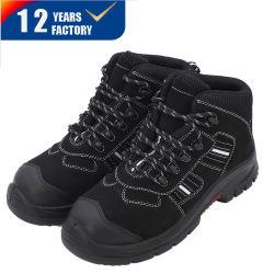 Commerce de gros prix bon marché ESD chaussures de sécurité avec embout en acier et la plaque en acier