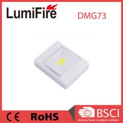 Работает от батареи 3 Вт светодиод початков стены небольшой переключатель ночное освещение