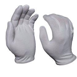 Papel branco de algodão e spandex Ceia aplicar as luvas de massagem SPA