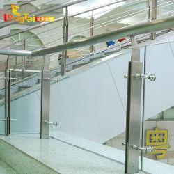 Verre Longtai Balustrade Baluster Balustrade en acier inoxydable dans la zone publique