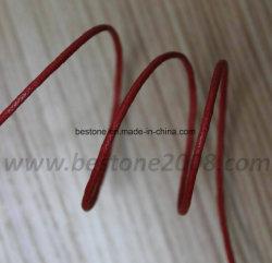 Cordon de coton de haute qualité W/cire
