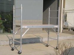 Plate-forme d'échafaudage roulant de haute qualité