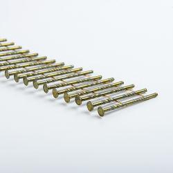 Les clous de la bobine vis hélicoïdale la queue de fixation des clous en rouleaux