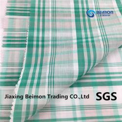 12mm Grid 25% seta 75% tessuto di cotone