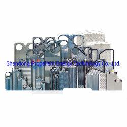 La réfrigération&Échangeur de chaleur Plaque Vicarb pièces V60 Échangeur de chaleur AISI316 AISI304 plaque du refroidisseur d'eau