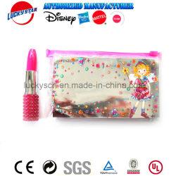 Saco de carvão com caneta Lipstic para Kid Papelaria