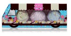 Commerce de gros Cupcake Bombe de Bain Body Lotion Gift Set Panier
