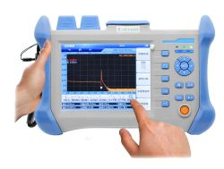 FTTH Sm mm 시험 기계 소형 소형 지능적인 OTDR
