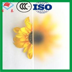 La segretezza bassa personalizzata del ferro del divisorio ha protetto laminato Sandblasting acquaforte di vetro glassato dell'acido fluoridrico di disegni del fiore
