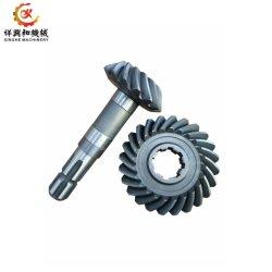 De alumínio/cobre OEM/Ferro/zinco/Engrenagem Cônica Espiral de Aço Inoxidável fundido com a perfuração