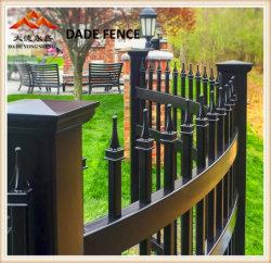 Wohn-/Werbung/Garten/Swimmingpool-Zaun für Sicherheit und dekorativen, galvanisierten Stahl, bearbeitetes Eisen. Aluminium-und Metallmaterielles Zaun-Panel