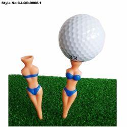 Nude Plastic Van Het T-Stuk Van Dame Golf Training Golfspelert-Stukken