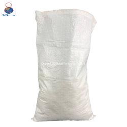 Agricultural 25kg 50kg de semences de haute qualité en polypropylène blanc Sac tissé PP