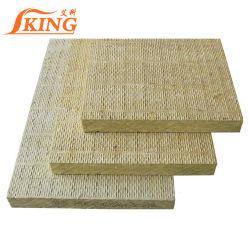 100mm de espessura isolamento 80kg/3 folhas de lã mineral de lã de rocha