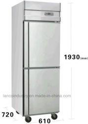 Frigorifero commerciale della cucina del congelatore dell'acciaio inossidabile di Risparmio-Energia per il ristorante