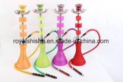 L'acrylique à bas prix de vente moyen d'usine Shisha narguilé en plastique jetables