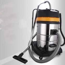 80L 3Motores Eléctricos de Aço Inoxidável Molhado Industrial Aspirador de pó seco