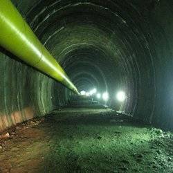 1000mm Layflat conduta de túnel, Tubo flexível de Mineração