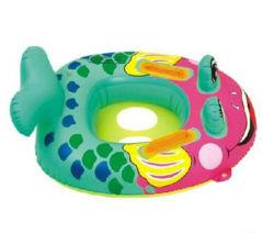 Almofada insuflável de PVC resistente Anel de natação do bebé