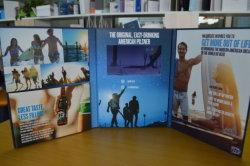 """6 pagine coprono duro 7 """" video opuscoli dell'affissione a cristalli liquidi/video cartolina d'auguri"""