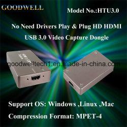 HDMI à placa de captura de vídeo USB 3.0