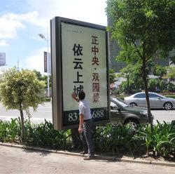 Publicidade exterior Exibir caixa de luz LED de Publicidade de Rolagem Caixa de Luz