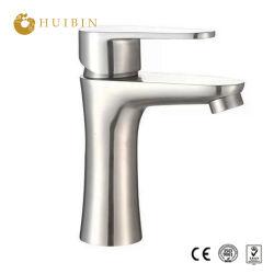 Klassischer aufgetragener einzelner Wasser-Mischer des Griff-Bassin-Badezimmer-SS