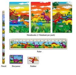 Kit de l'École de la Papeterie Souvnier ensemble cadeau créatif Stylo/crayon Box pour les enfants