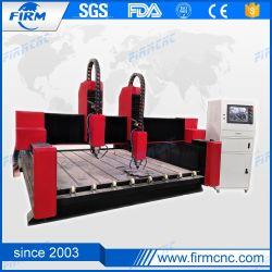 Qualität hölzerner CNC-Fräser 5.5kw CNC-Steingravierfräsmaschine