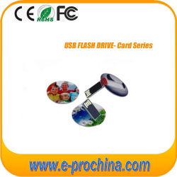 Mini lecteur Flash USB de carte de crédit pour l'échantillon gratuit