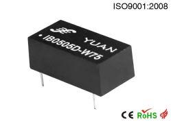Модуль питания постоянного тока в постоянный с Защита от короткого замыкания Ib0512D-2W