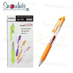 문구류 젤 펜 젤 볼 펜 컬러풀한 잉크 G101 10가지 색상