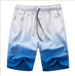 Diseño Colful Swim Shorts sublimación Boardshort impreso Surf Playa pantalones