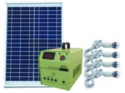 45W fuori da potere solare di Sun di griglia per il campeggio, illuminazione domestica, carico del telefono