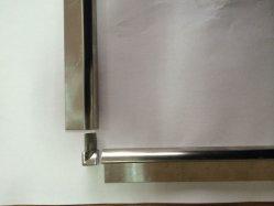 알루미늄 단면도의 벽 도와 손질 장식적인 모양을%s 둥근 테두리