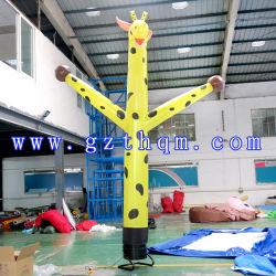 5M 높이 팽창식 Giraffe 공기 댄서