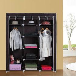 Simple moderno hogar armario plegable de Tela Tela Ward, el conjunto de almacenamiento de refuerzo de tamaño King Size Combinación simple armario (FW-35H)
