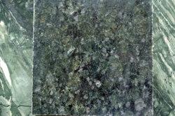 Lastra verde di granito crisantemo per progetto