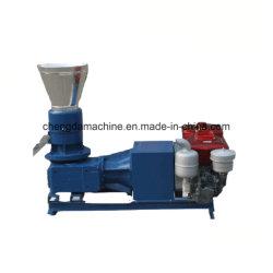 100-200kg/h de prensa de pellet de madera con Ce para el uso de la familia