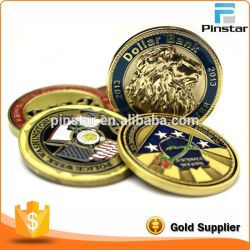 Artesanato de Metal Pinstar Ouro Metal Personalizados Loja Medalhas e Moeda