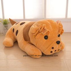 Plush animal en peluche chien coussin doux