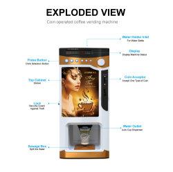 Coupe automatique se dispenser de prémélange vending machine à thé de café Le303V
