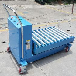 Porta-paletes manual hidráulico com rolo