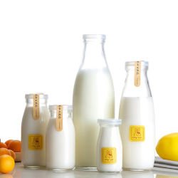 500ml Utilisation populaires pour enfants sans plomb bouteille de lait à col large avec une étiquette personnalisée Disign