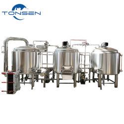 300L 500L 1000L 2000L 3000L 5000Lのステンレス鋼ビール醸造装置Microbrewery