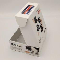 핫 세일즈 맞춤형 OEM 로고 컬러 프린팅 PET Dog Cat 식품 액세서리 선물 포장 종이 상자