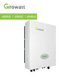 Solaire Growatt onduleur sur réseau de convertisseur de puissance électrique 4000W 5000W 6000W Grille du système d'énergie solaire de l'onduleur cravate avec le meilleur prix