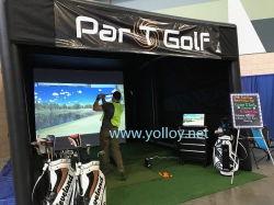 El edificio Simulador de Golf inflables